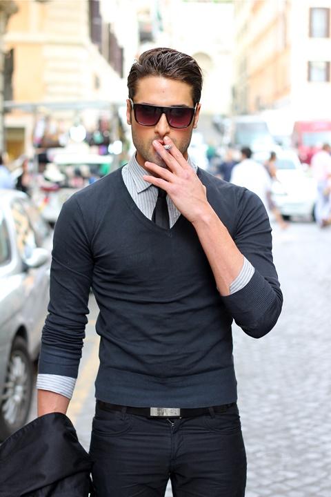 мъжки пуловери стрийт стайл