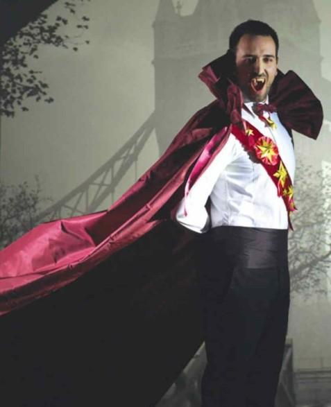 napravi si sam kostum vampir za helouin