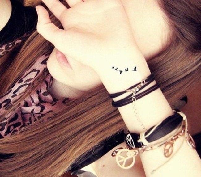 татуировки с птици
