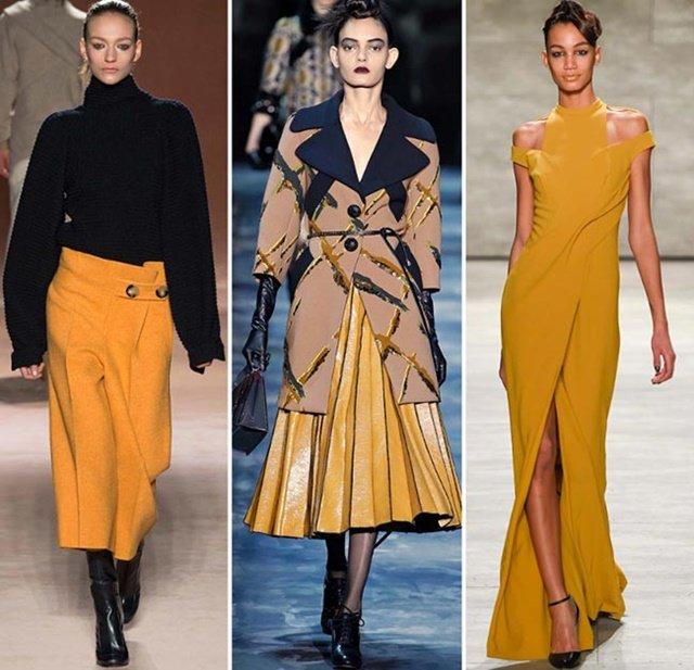 тенденции есен 2015 жълто