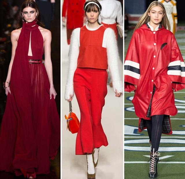 тенденции есен 2015 червено