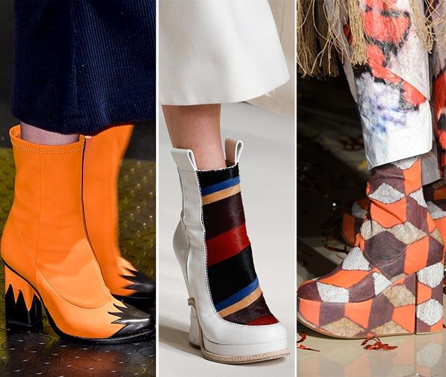 тенденции обувки есен