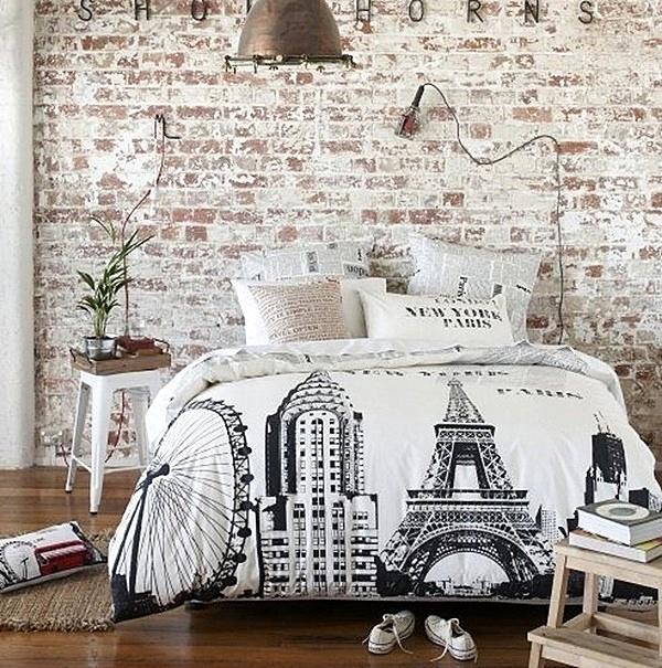 тухлена-стена-спалня
