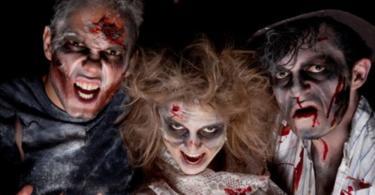 халоуин зомби