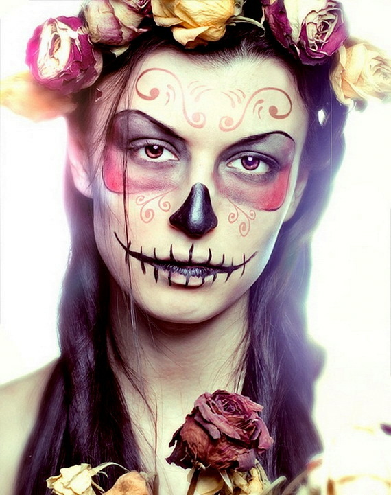 хелоуин-грим