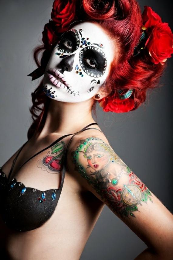 helouin grim sugar skull