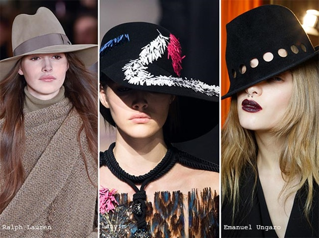 шапки за есента 2015