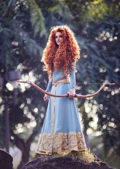 helouin disni princesa merida