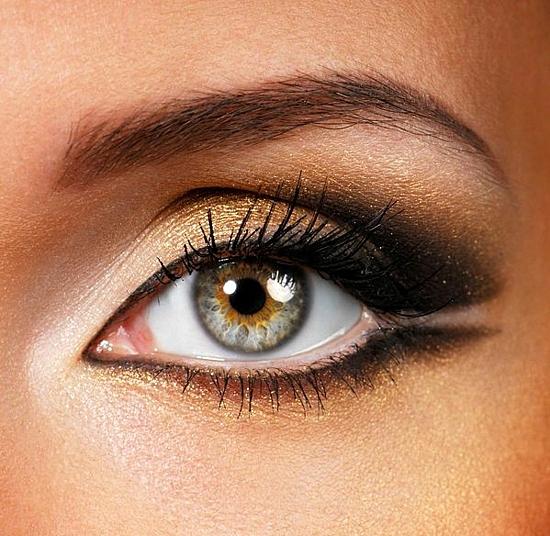 грим-за-сиви-очи