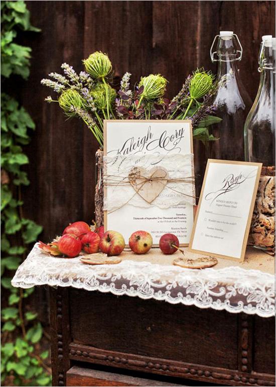 rustik idei za svatba