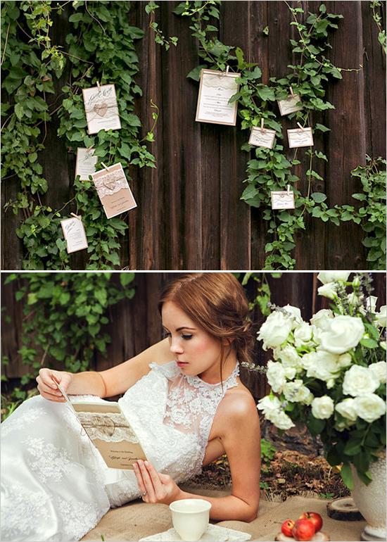 рустик идеи за сватба