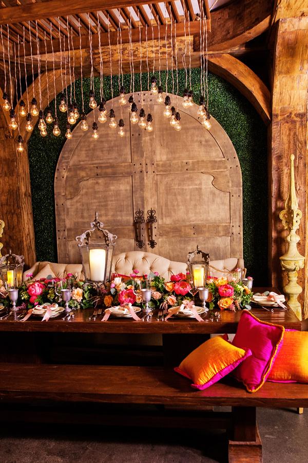 украса за зимна сватба