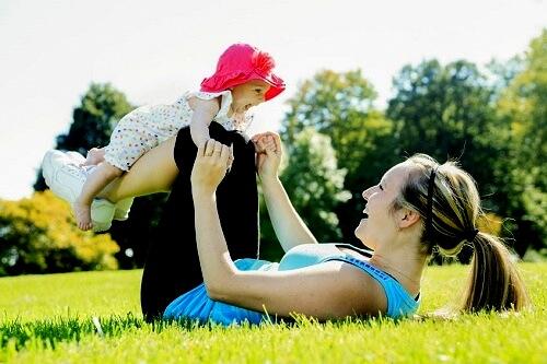 фитнес съвети за майки
