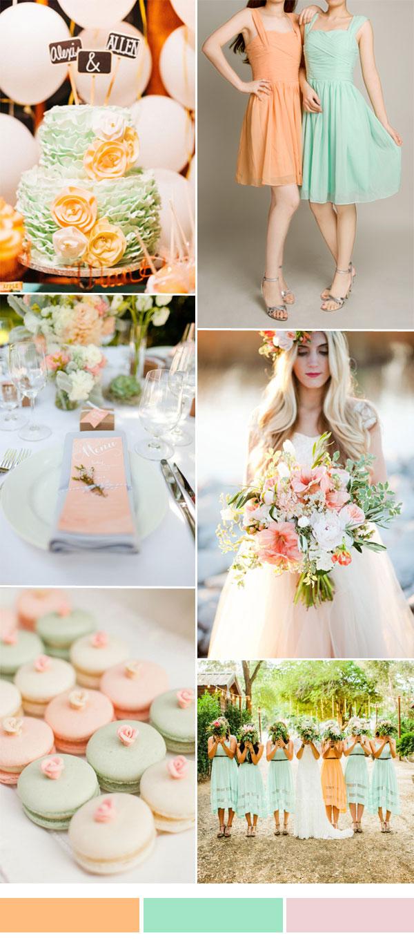 цветови комбинации за сватба