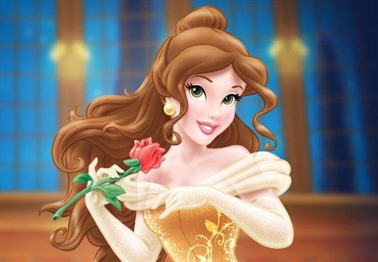 дисни-принцеси-бел