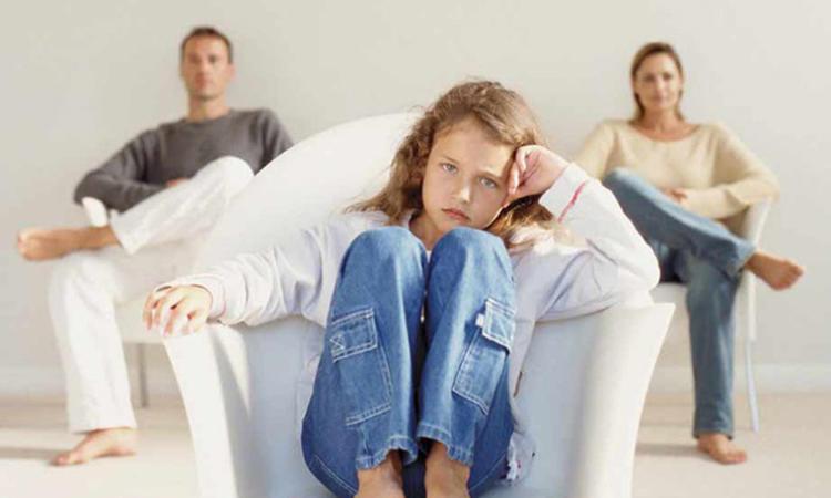 дъщеря на разведени родители