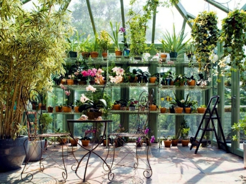 зимна градина на терасата