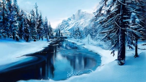 зимни картини