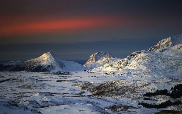 planinski zimni peizaji