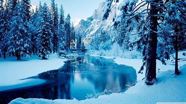 зимни пейзажи