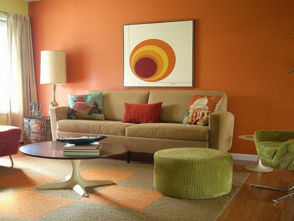 идеи за боядисване на хол