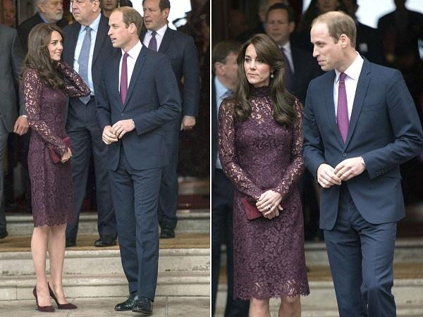 кейт мидълтън рокля дантела