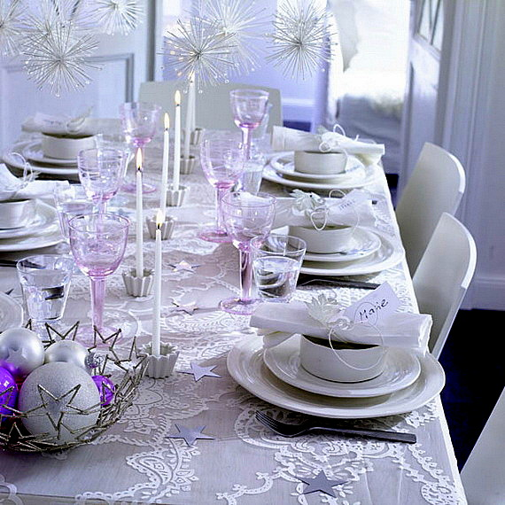 коледна декорация за маса