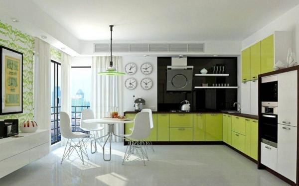 кухня-в-зелено
