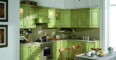 кухня-в-зелено-5