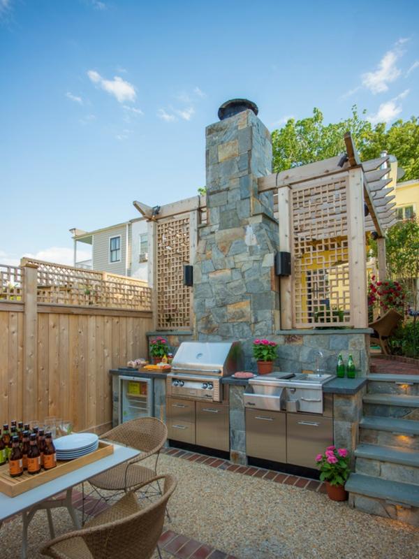 кухня на терасата