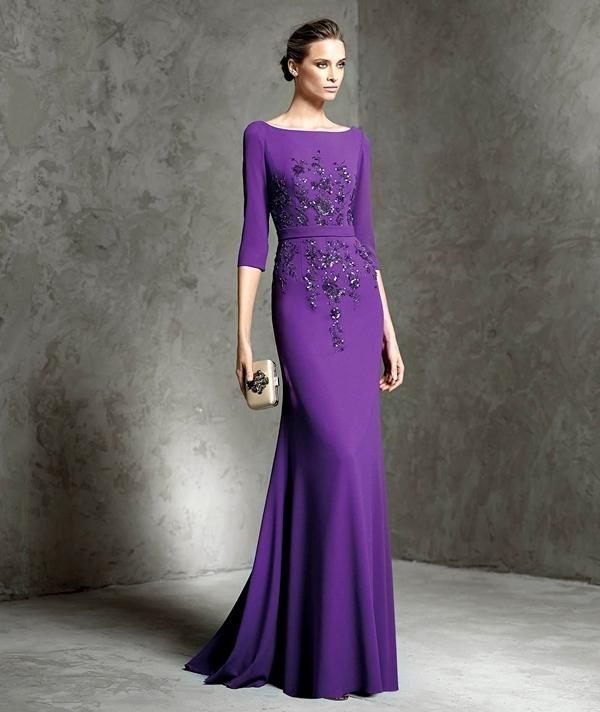 лилави абитуриентски рокли