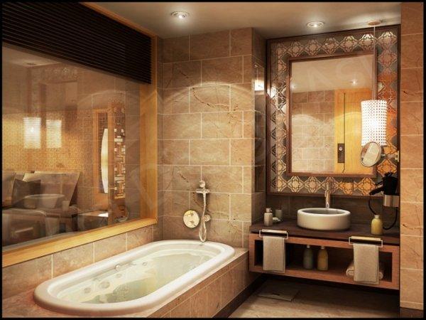 луксозни малки бани