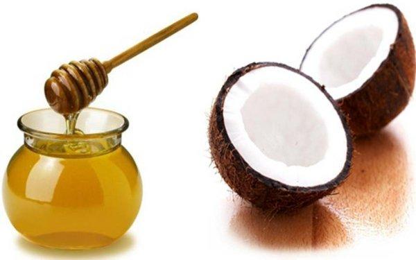 маска за коса с мед
