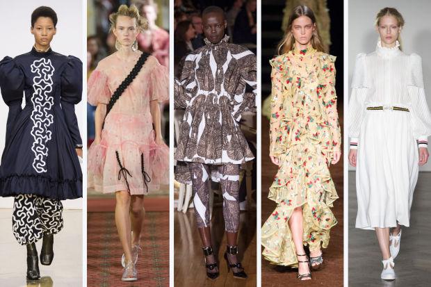 модна седмица лондон пролет 2016