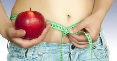 отслабване с ябълки