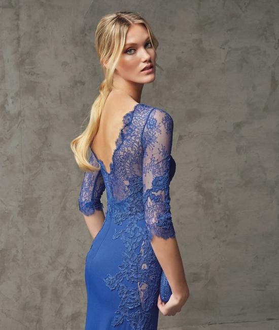 сини абитуриентски рокли