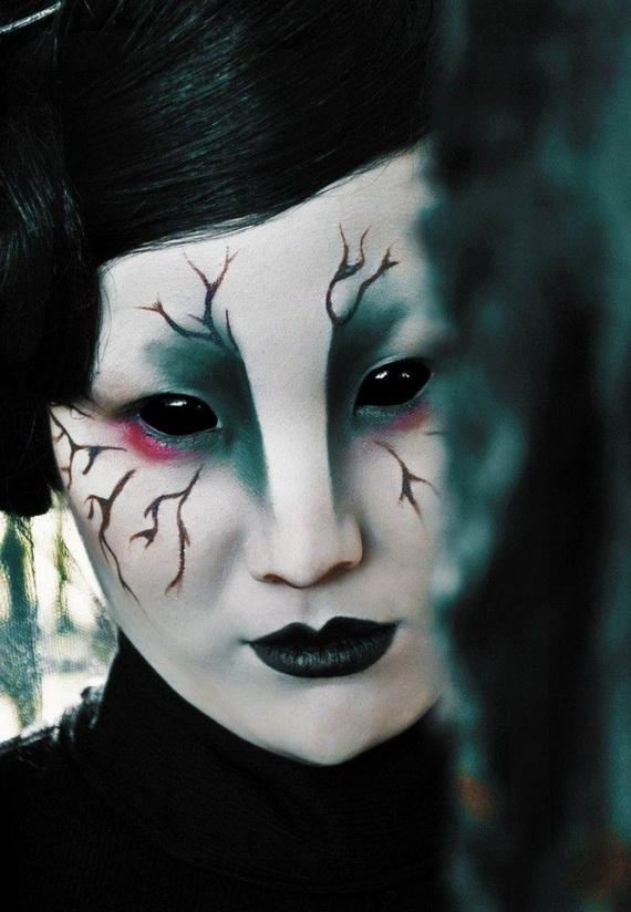 страшен-грим-за-Хелоуин-за-жени