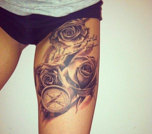 татуировки-за-крак