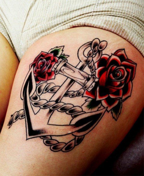 татуировки за крак