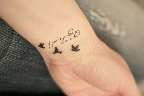 татуировки на китката
