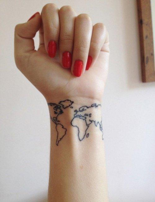tatuirovka na kitkata karta