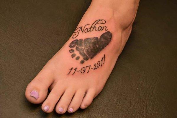 татуировки с имена