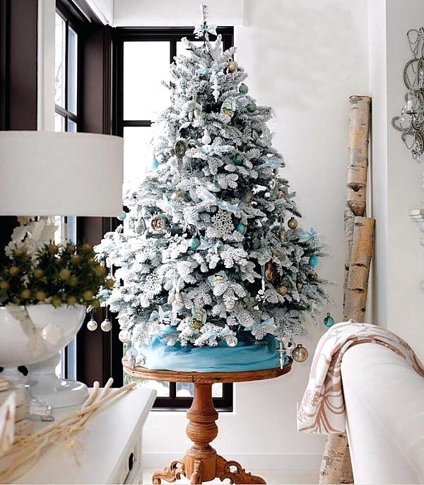 украса-за-снежна-изкуствена-елха