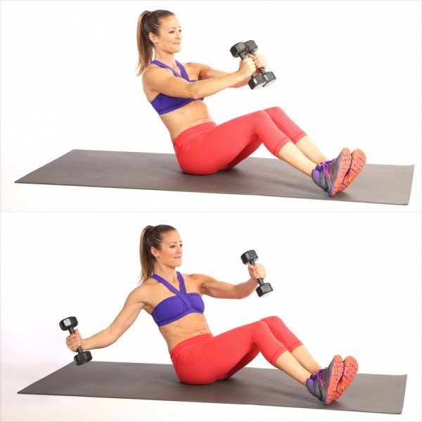 упражнение за долна част на корема