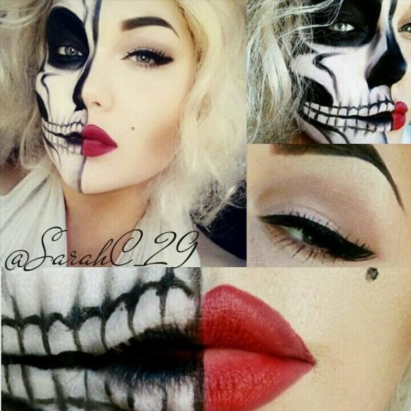 хелоуин-грим-за-жени