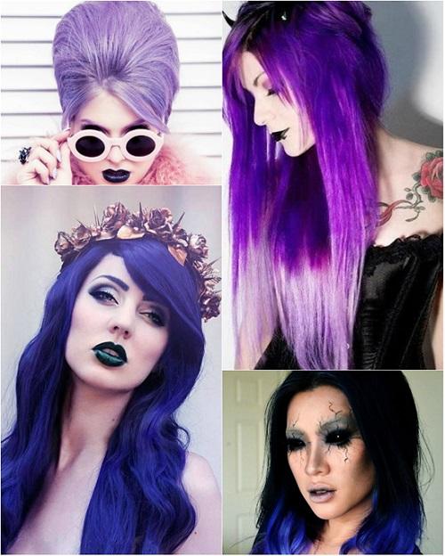 хелоуин-костюми-с-цветни-перуки