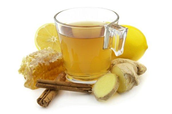 джинджифил с мед при болки в гърлото