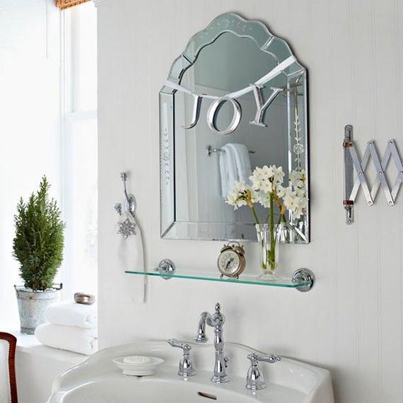 коледна декорация за баня