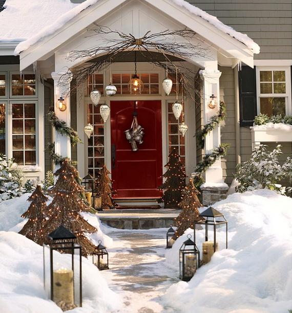 коледна украса за врата