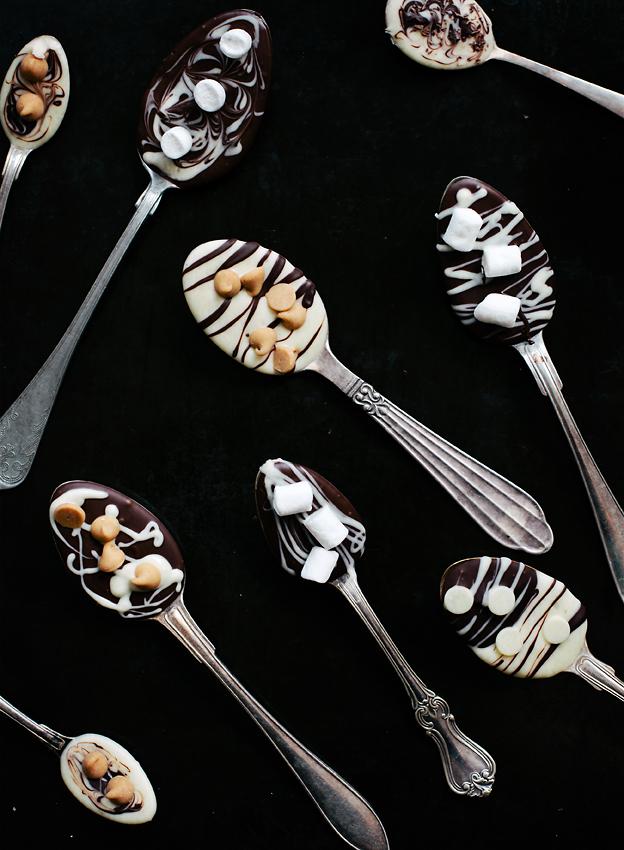 лъжици за горещ шоколад